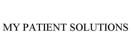 MY PATIENT SOLUTIONS