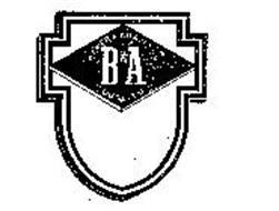 B&A BAKER & ADAMSON QUALITY