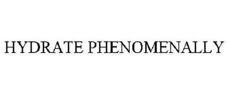 HYDRATE PHENOMENALLY