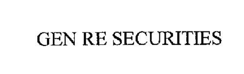 GEN RE SECURITIES