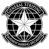GENERAL STRIPING PAVEMENT MARKING SPECIALISTS