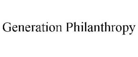 GENERATION PHILANTHROPY