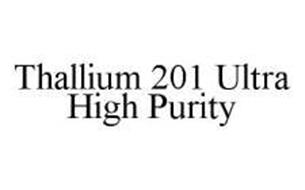 THALLIUM 201 ULTRA HIGH PURITY
