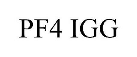 PF4 IGG