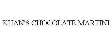 KHAN'S CHOCOLATE MARTINI