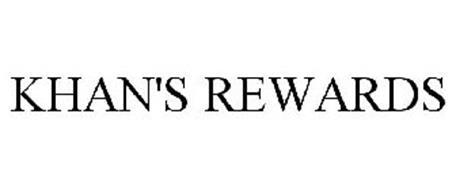 KHAN'S REWARDS