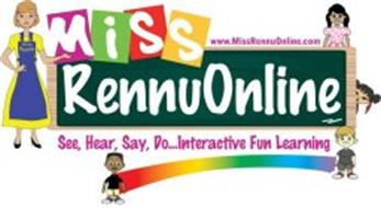 MISS RENNUONLINE SEE, HEAR, SAY, DO... INTERACTIVE FUN LEARNING WWW.MISSRENNUONLINE.COM