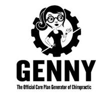 GENNY THE OFFICIAL CARE PLAN GENERATOR OF CHIROPRACTIC