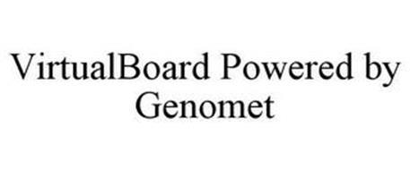 VIRTUALBOARD POWERED BY GENOMET