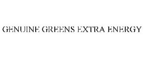 GENUINE GREENS EXTRA ENERGY