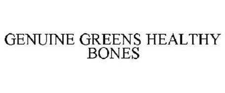 GENUINE GREENS HEALTHY BONES