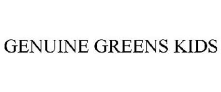GENUINE GREENS KIDS