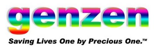 GENZEN SAVING LIVES ONE BY PRECIOUS ONE