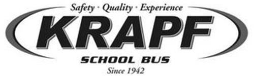 KRAPF SCHOOL BUS SAFETY QUALITY EXPERIENCE SINCE 1942