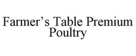 FARMER'S TABLE PREMIUM POULTRY