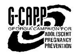 G-CAPP GEORGIA CAMPAIGN FOR ADOLESCENT PREGNANCY PREVENTION