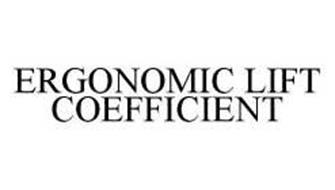 ERGONOMIC LIFT COEFFICIENT