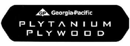 GP GEORGIA-PACIFIC PLYTANIUM PLYWOOD