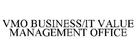 VMO BUSINESS/IT VALUE MANAGEMENT OFFICE