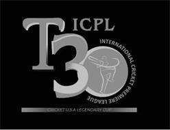 ICPL T30 INTERNATIONAL CRICKET PREMIER LEAGUE CRICKET USA LEGENDARY CUP