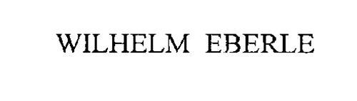 WILHELM EBERLE