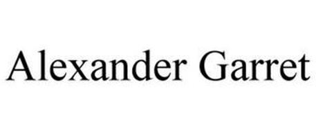 ALEXANDER GARRET