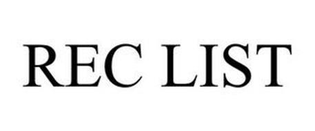 REC LIST