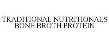 TRADITIONAL NUTRITIONALS BONE BROTH PROTEIN