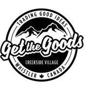 GET THE GOODS TRADING GOOD IDEAS CREEKSIDE VILLAGE WHISTLER CANADA