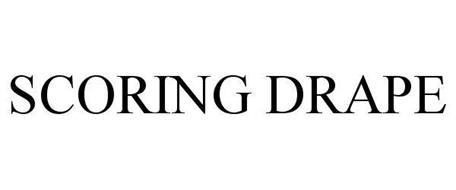 SCORING DRAPE