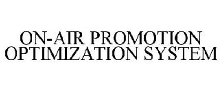 ON-AIR PROMOTION OPTIMIZATION SYSTEM