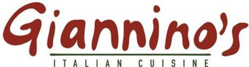 GIANNINO'S ITALIAN CUISINE