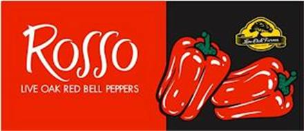 ROSSO LIVE OAK RED BELL PEPPERS LIVE OAK FARMS SINCE 1929