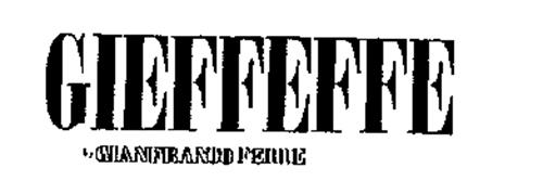 GIEFFEFFE BY GIANFRANCO FERRE