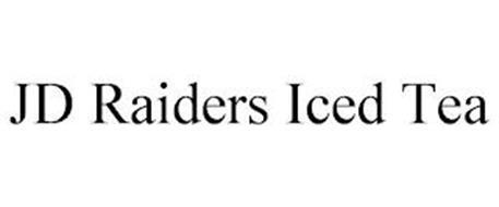JD RAIDERS ICED TEA