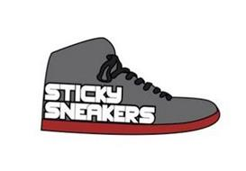 STICKY SNEAKERS