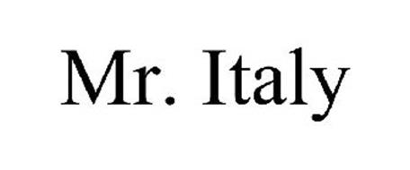 MR. ITALY