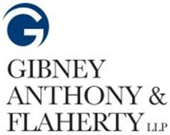 G GIBNEY ANTHONY & FLAHERTY LLP