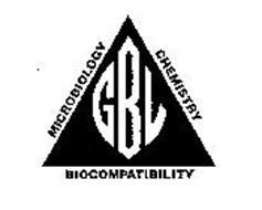 MICROBIOLOGY CHEMISTRY BIOCOMPATIBILITY GBL