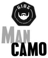 GIBS GUYS INTO BEARD STUFF MAN CAMO