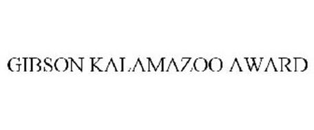 GIBSON KALAMAZOO AWARD