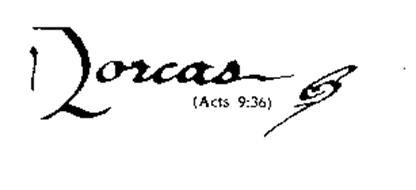 DORCAS ACTS (9:36) CF