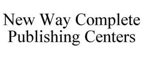 NEW WAY COMPLETE PUBLISHING CENTERS