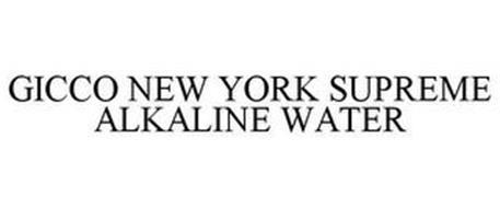 GICCO NEW YORK SUPREME ALKALINE WATER