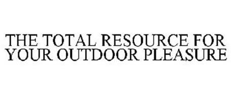 THE TOTAL RESOURCE FOR YOUR OUTDOOR PLEASURE