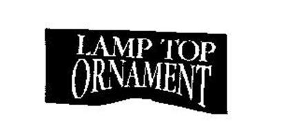 LAMP TOP ORNAMENT