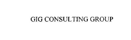 GIG CONSULTING GROUP