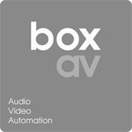 BOX AV AUDIO VIDEO AUTOMATION