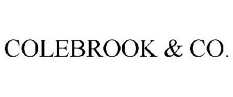COLEBROOK & CO.