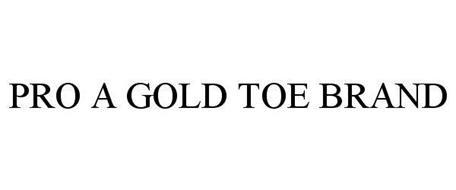 PRO A GOLD TOE BRAND